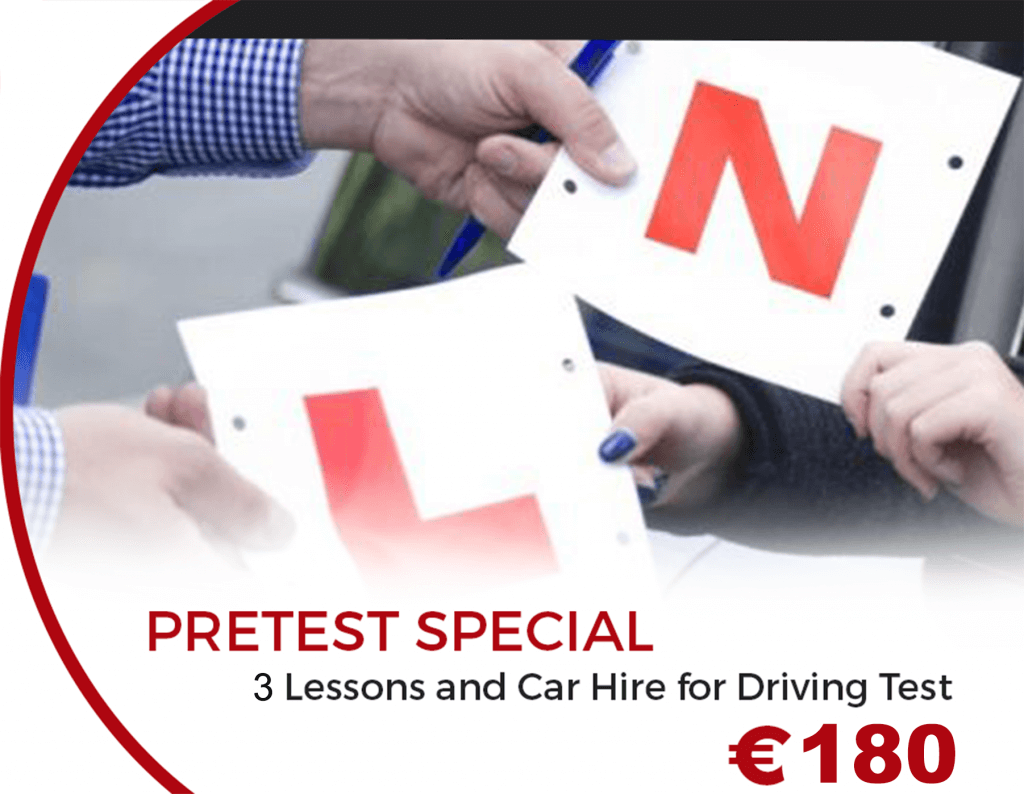 Driving Test Car Hire in Dublin: Pre-test Special €180